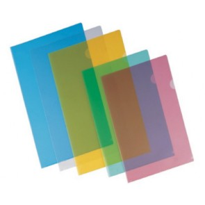 L shape Folder A/4 High Quality Transparent