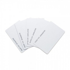 Plain RFID Card White