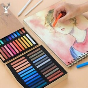 Marie's Soft Pastel Colored Chalk 48 pcs