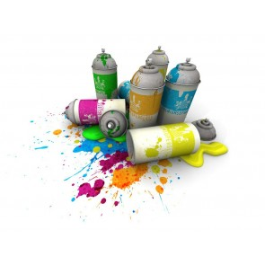 Sensa Spray Paint Fluorescent