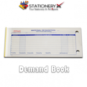 Demand Book - Demand Draft With Carbon Paper Duplicate - 50 Sets