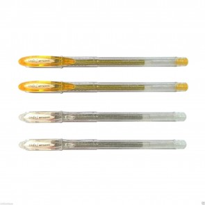 Uni-Ball Signo Sparkling Gold Silver Color Ink Gel Pen