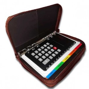 Agenda Professional Organizer 6 Ring + Calculator