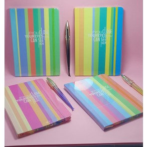 A5 Fashion Note Book With Elastic