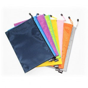 Zip Bag Fancy Mix Color Doted
