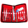 12 Pcs Medical Dissecting Kit Surgical Anatomy Instruments Set For Students Practical