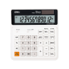 Deli EM01010 120-CHECK TAX CALCULATOR 12-DIGIT WHITE 3 Years Warranty