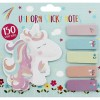 Sleeping Unicorn Sticky Notes Post it