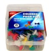 Deli Color Push Pin, 35 Pcs (Box) (E0021)