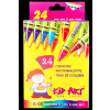 Crayons 24 pcs small size ( Any Brand )