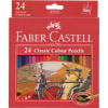 Faber Castell Classic Colour Pencils Box 24